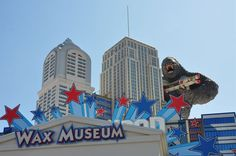 Hollywood Wax Museum in Pigeon Forge - You can't miss King Kong while driving down the Pigeon Forge strip