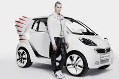 Jeremy Scott pone alas al Smart Fortwo ELectric Drive