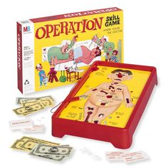 Board games - Operation