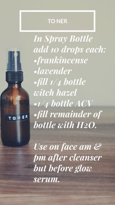 This Facial Toner using Young Living Essential Oils has so many many benefits: shrinking pores, locking in moisture, reducing appearance of fine lines, fighting acne and restoring your skins natural pH. For more essential Oil Use Ideas visit: www.balancedfromtheinsideout.com