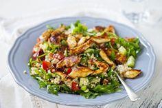 Veckans middagstips: kycklingsallad med couscous och vinägrett