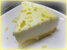 mini -tarta  facil  de mousse de limon