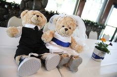 Wedding Build A Bear Plushies That Look Like The Bride And Groom Image By Sharee Davenport