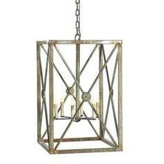 Medallion X Lantern - Sarah Virginia Home