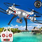 ﹩171.99. Syma X8G 2.4G 4CH 6Axis With 8MP HD Camera Headless Mode RC Quadcopter FPV Drone    Fuel Type - Electric, Required Assembly - Ready to Go/RTR/RTF (All included), Color - AS Shown, Vintage (Y/N) - Yes, Weight - 1200g, Flight Time - 10-12 Minutes, Charging Time - :70 Minutes, Control Distance - 150m, Battery for controller - 4 x AA batteries(not included)