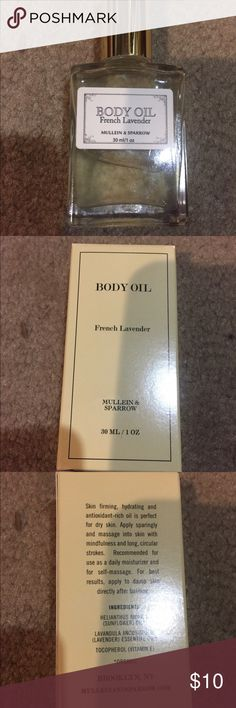 French lavender oil French lavender body oil Makeup