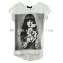 latest fashion short sleeves 3d printing t-shirt for ladies  Best Buy follow this link http://shopingayo.space
