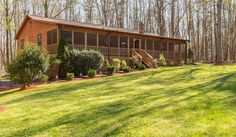 You won't want to leave home owning this 4 BR Raised rambler situated on 2.26 acres with a full screened front porch perfect for sitting on the mounted swing enjoying this small quiet neighborhood. Fenced back yard includes a large shed with dog run. There is a great family room with a pellet stove, open kitchen, separate dining area, and mud room/laundry room on the main floor.