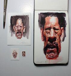 (2) Marvin Lorenz - Paintings & Drawings