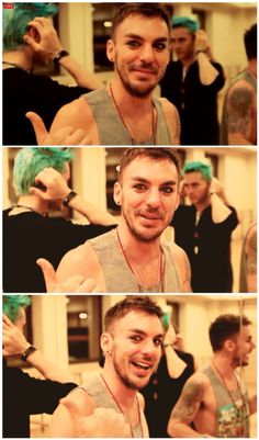 Shannon feat. Jared in the background