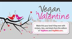 Vegan Valentine's Day Recipes and Tips !
