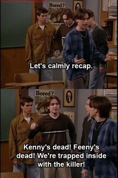 "This update. | Community Post: 22 Hilarious Quotes From The Halloween Episode Of ""Boy Meets World"""