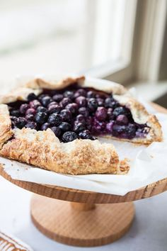You're gonna want more than just a slice from this Blueberry Frangipane Galette.