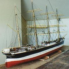 The Four-Masted Barque Lawhill