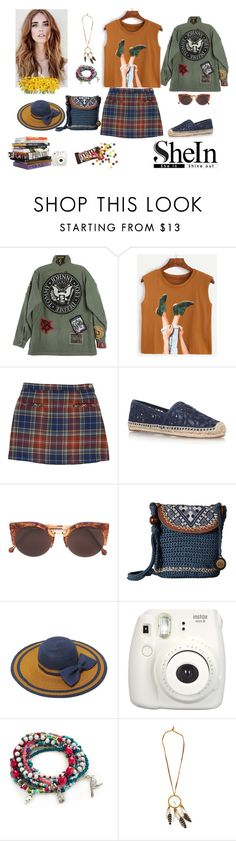 """""""Camel Graphic"""" by veronka2001 ❤ liked on Polyvore featuring Tory Burch, RetroSuperFuture, The Sak, Fujifilm and Red Camel"""