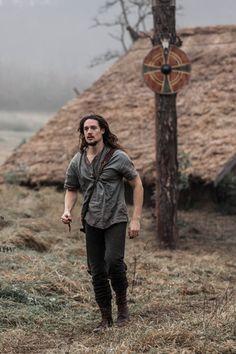 "Alexander Dreymon as Uhtred of Bebbanburg in ""The Last Kingdom"" Season 1 From http://jossbarratt.com/portfolio/the-last-kingdom-by-bbc"