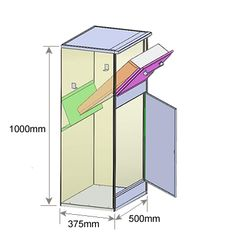 P2 Parcel Drop Box Dimensions