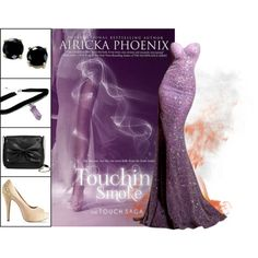 Book Look: Touching Smoke (Touch #1) By Airicka Phoenix by xmikky on Polyvore featuring Vince Camuto, Sam & Libby and B. Brilliant