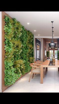 4 Resolute Tips: Flat Roofing Railing curved roofing tiles. Wall Garden Indoor, Vertical Garden Wall, Garden Wall Designs, Garden Design, House Design, Jardin Vertical Artificial, Modern Roofing, Roof Styles, Interior Garden
