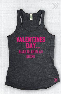 Anti Valentines Day  Eco-Tank top