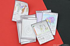 Let your kids design their own Pokemon cards with this free printable template from And Next Comes L