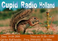eQSL from Cupid Radio