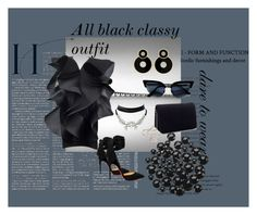 """""""Dare to wear #2"""" by madaliness ❤ liked on Polyvore featuring Pierre Cardin, Christian Louboutin, Miss Selfridge, WithChic, blackandwhite, classy, polyvoreeditorial and polyvorefashion"""