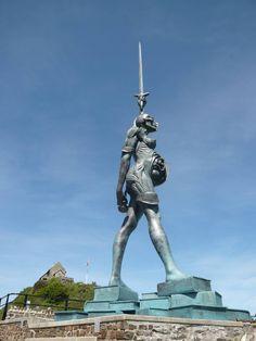 Damien Hirst's Verity, Ilfracombe. #damienhirst http://www.widewalls.ch/artist/damien-hirst/