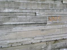 board formed concrete site wall - Google Search