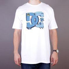 Biała męska koszulka DC Star Ghica 2 SS T-shirt Ghica Popa White - kolekcja Fall/Winter 2014 / www.brandsplanet.pl / #dc shoes #skate #skateboarding