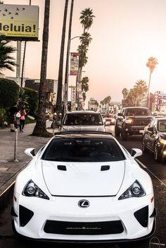 Lexus LFA...hey look at me, I am beautiful as hell