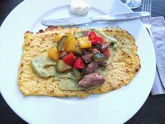 Pâtisserie Nadine: Fajitas mit mehl-freien Tortillas aus Blumenkohl