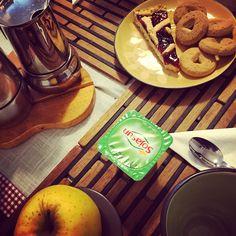 Yogurtino e crostata per una buona domenica #breakfast