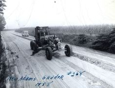 This #ThrowbackThursday photo showcases an Adams Grader in 1958!