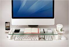 Tu Organizas.: Charme e diversão na mesa de trabalho