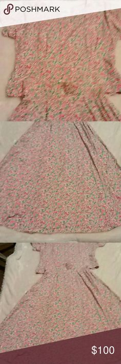 Lilly Pulitzer Two Piece Outfit Lilly Pulitzer two piece outfit. Size is large 14-16. In very great condition. This is a nice top and skirt.   Any questions please feel free to ask Bundle and save  Happy Poshing Lilly Pulitzer Skirts