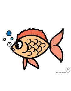 1000 images about disegni colorati di animali on for Disegni di pesciolini