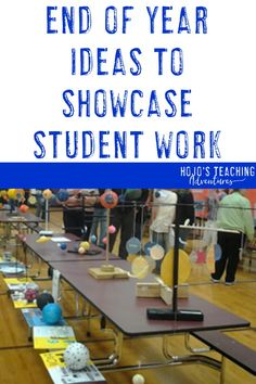 end of year ideas to showcase student work - great things to try with or grade upper elementary kids 5th Grade Classroom, Middle School Classroom, Science Classroom, Teaching Science, Science Education, Physical Science, Science Experiments, 6th Grade Science, Middle School Science