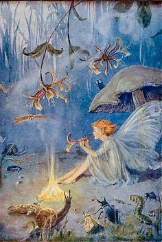 Enchantress By Margaret Tarrant
