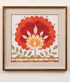 Ikat+Bloom+II+Print