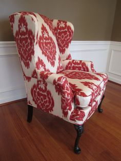 Wingback chair - Restoration