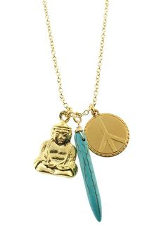 LEILA Good Karma Necklace by Jewelry Blowout on @HauteLook