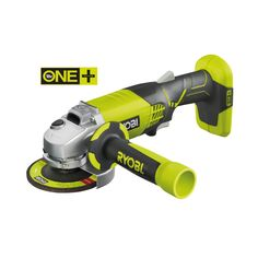 For all your grinding projects - Ryobi's 18V Cordless Angle Grinder, part of the ONE+ System   Power Tools   Ryobi Tools
