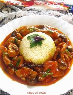 Curcan dulce-acrisor in stil asiatic ~ Culorile din farfurie Asian Recipes, Mexican Food Recipes, Healthy Recipes, Ethnic Recipes, Healthy Food, Romanian Food, Recipe Sites, Superfoods, Thai Red Curry