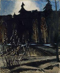 Otto Mäkilä (1904-1955) - Metsä, 1945