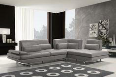 Canapé d'angle contemporain en cuir Fly 2 Max Divani Maxdivani