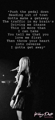 The Getaway, one of my favorites from her second album #HilaryDuff