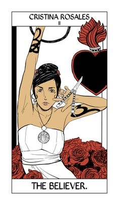 Christina Rosales - The Believer: Cassandra Jean: Shadowhunter Tarot Series: *Character belongs to Author Cassandra Clare and her Dark Artifices series