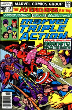 Marvel Triple Action #39 cover by Gil Kane