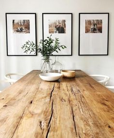 51 Best Farmhouse Dining Room Table Decoration Ideas - Page 51 of 51 Casa Milano, Dining Table With Bench, Dining Tables, Coffee Tables, Farm Tables, Modern Rustic Dining Table, Mid Century Dining Table, Kitchen Tables, Dining Sets